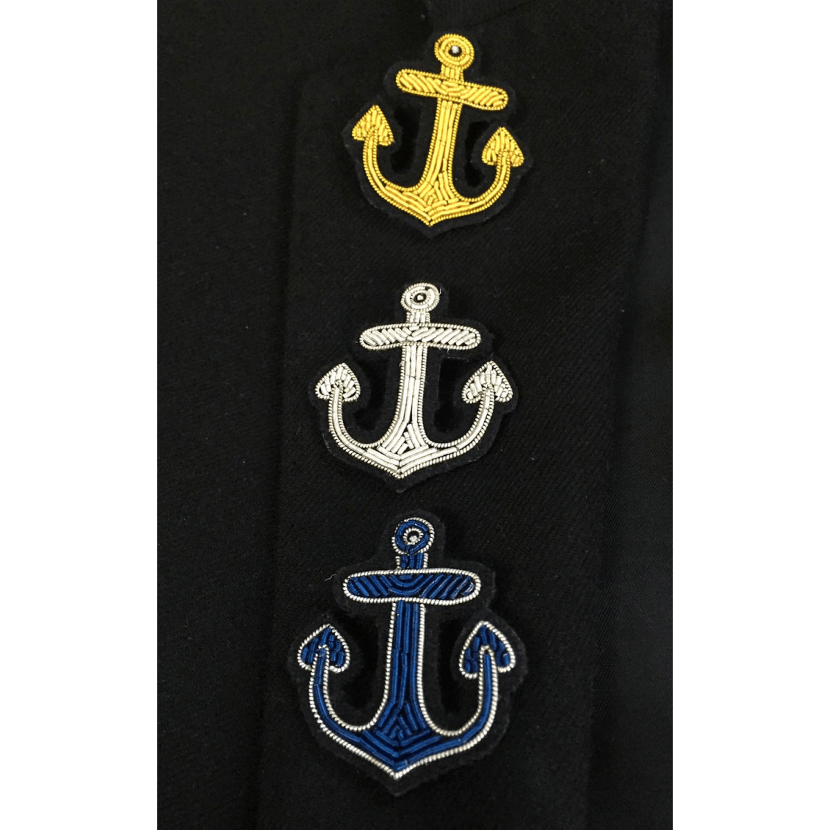 Anchor Embroidered Patches