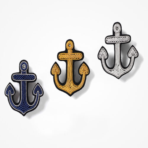 Anchor Embroidered patch (2)
