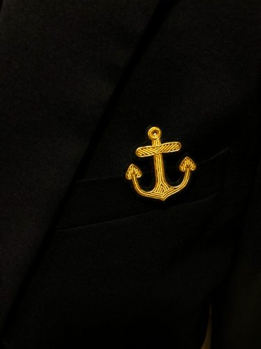 Anchor Embroidered Blazer Bullion Patch photo review
